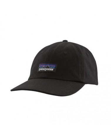 38296 P-6 Label Trad Cap BLK